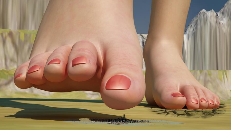Giantess Feet 44