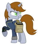 littlepip with the black book