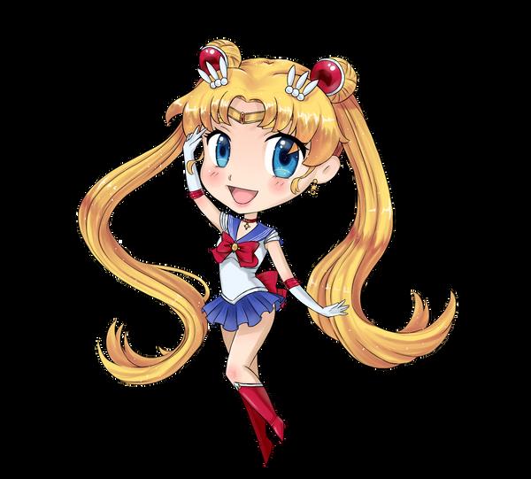 Chibi Sailor Moon by TenguxChan