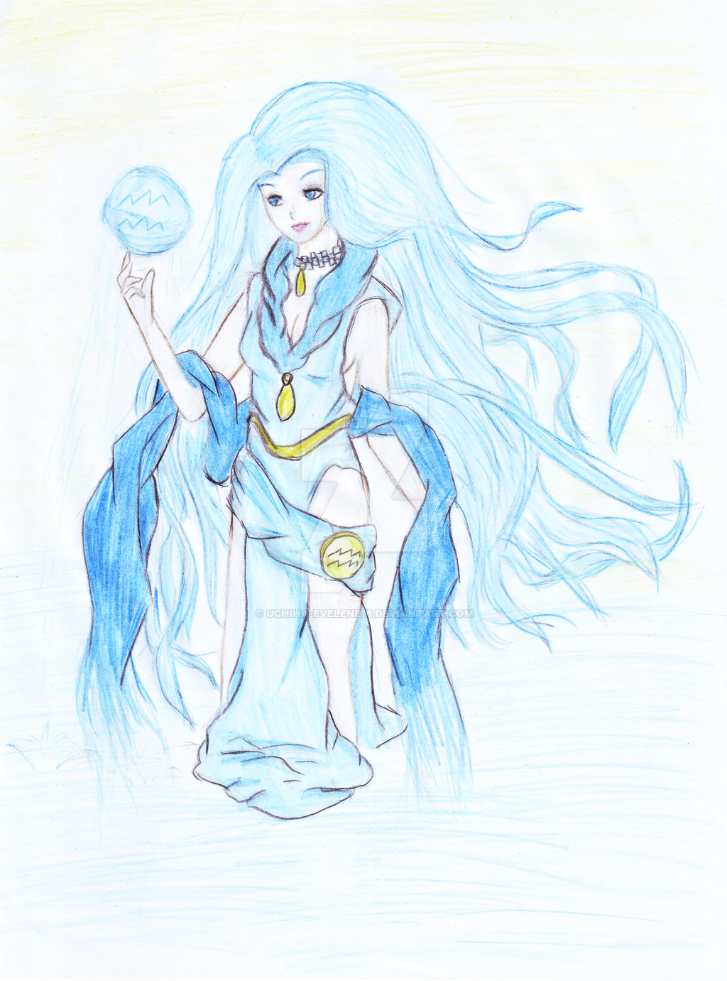 Aquarius (Female) by Uchiha-Evelene18 on DeviantArt  Anime Aquarius