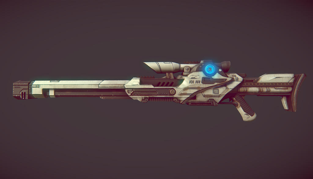 Ground Weapons Real_time_sci_fi_gun_based_on_jim_svanberg_art_by_david_j-d62wnec