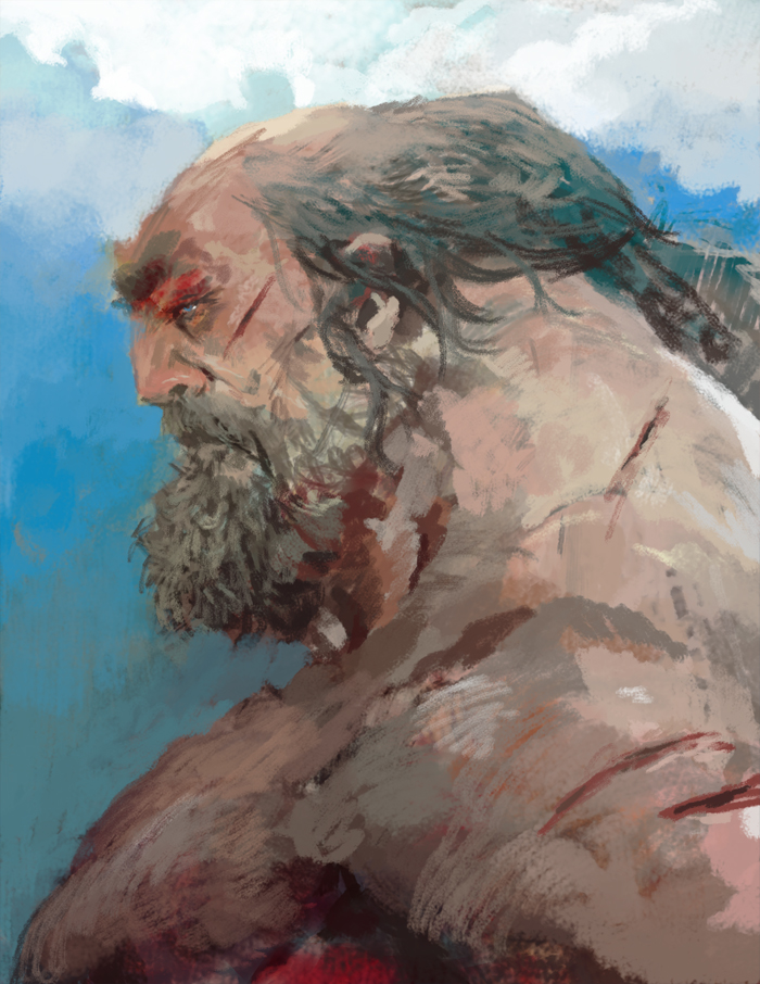 old man by hoooook