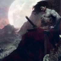 King of the moon.. by hoooook