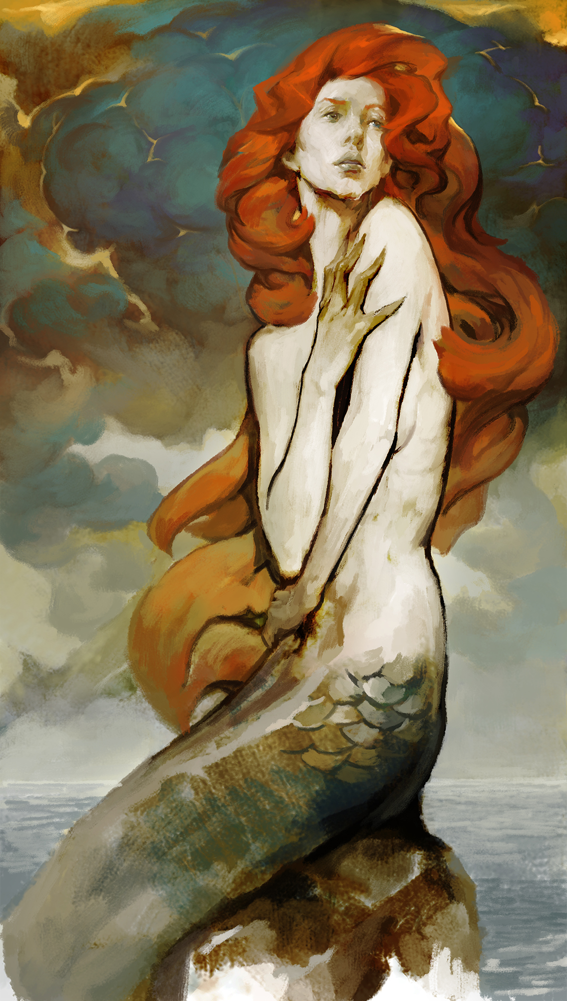 Mermaid by hoooook