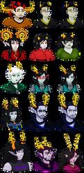 Kindstuck - Everyone [Bust] by DemonCatLady
