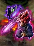 Goku Black And Zamasu Dragon Ball Super