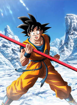 Goku in upcoming movie - dragon ball super