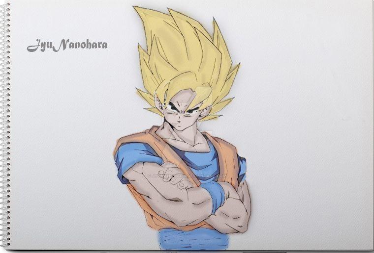 Goku by JyuNanohara