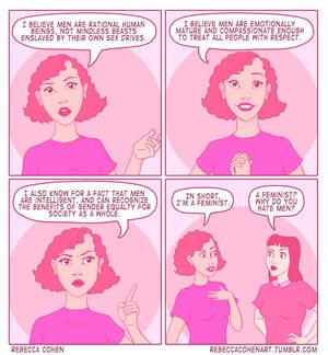 Feminists Hate Men