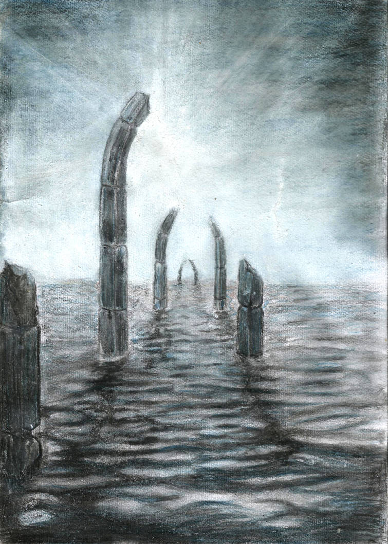 Echoes of the sunken by Aquarelios