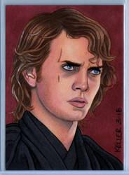 Anakin Skywalker ACEO by Rathskeller7