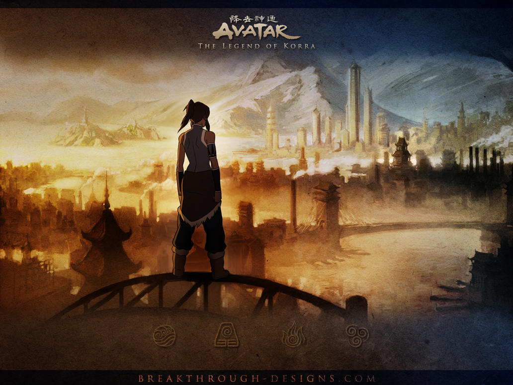 Legend of korra wallpaper by breakthroughdesigns on deviantart legend of korra wallpaper by breakthroughdesigns voltagebd Images