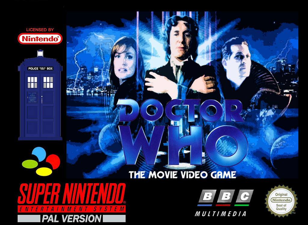 Doctor Who TV Movie SNES Game by Beatleboysam on DeviantArt