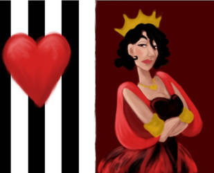 Queen of hearts by iove