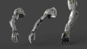 mechanical arm by fredTS