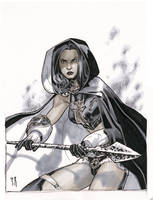 Magdalena sketch by StephaneRoux