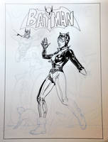 Batman 84 cover recreation WIP by StephaneRoux