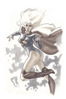 Supergirl Sketch by StephaneRoux