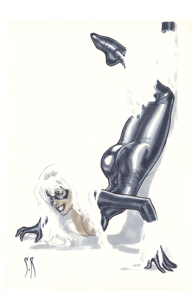 Black Cat encore by StephaneRoux