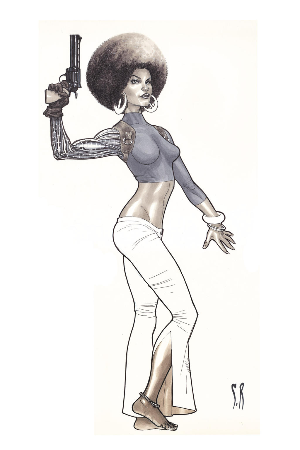 Misty knight by StephaneRoux