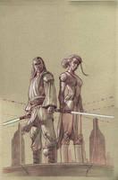 Jedi: The dark side cover 1 by StephaneRoux