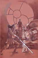Jedi: The Dark Side cover 5 by StephaneRoux