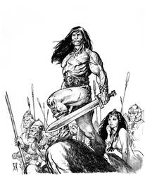 Conan  the COnqueror by StephaneRoux