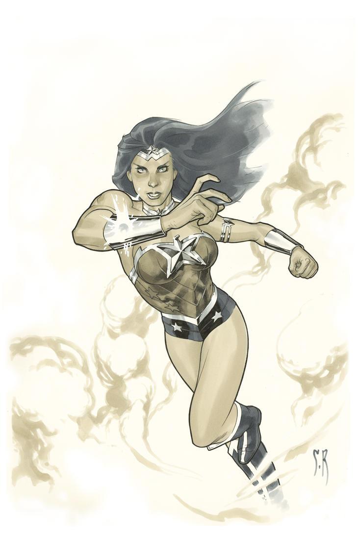 Wonder Woman by StephaneRoux