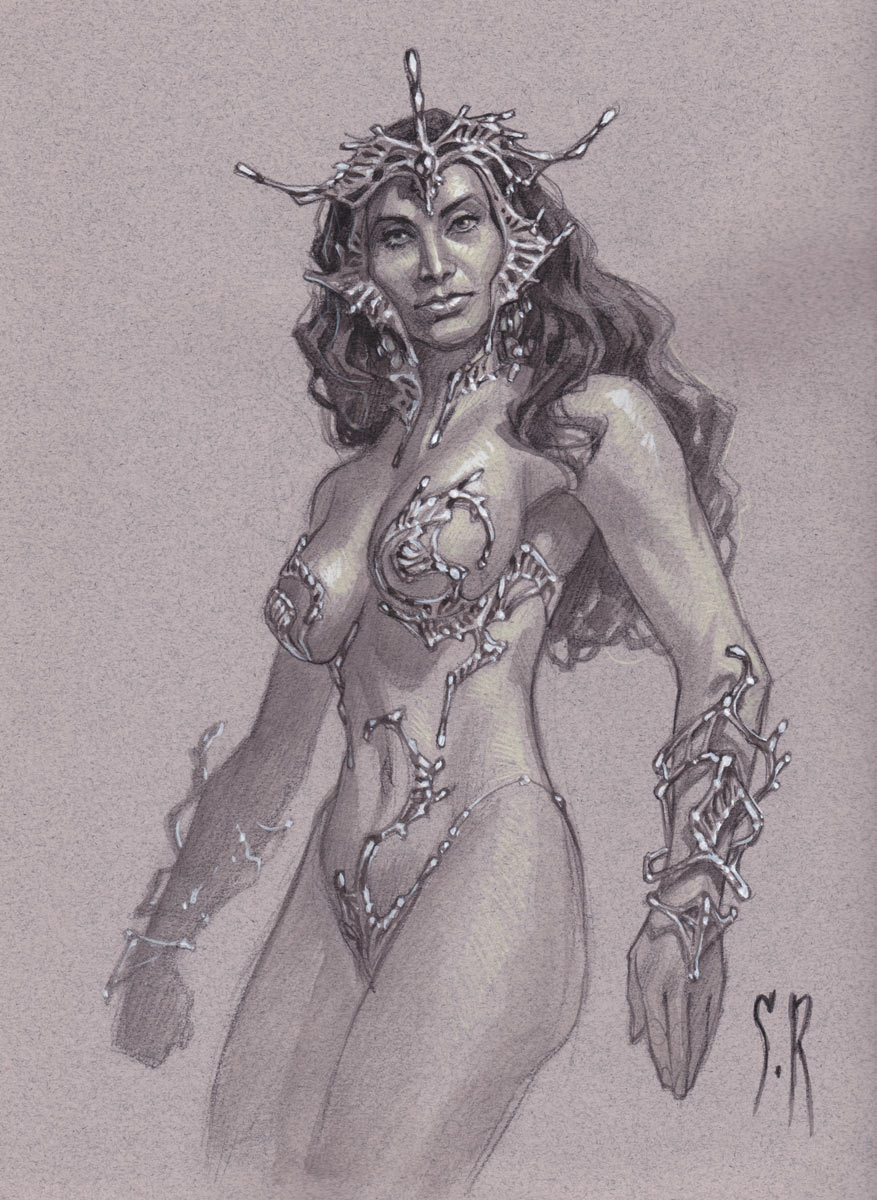 Dejah Thoris by StephaneRoux