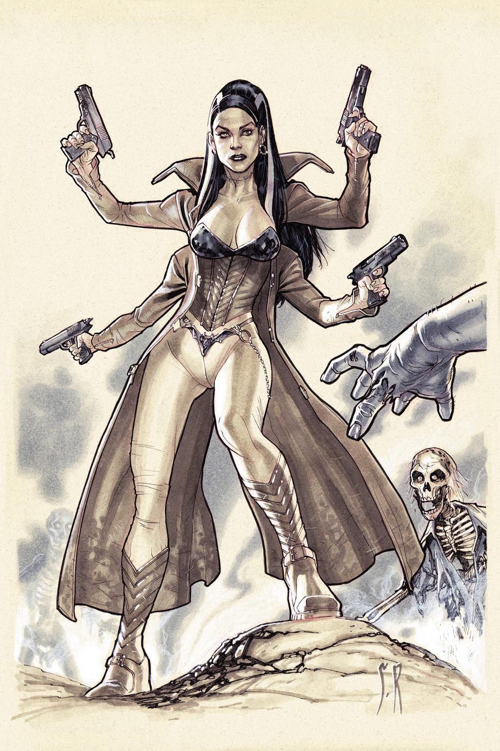 Bride of Frankenstein by StephaneRoux