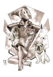 Rocketeer home commission by StephaneRoux