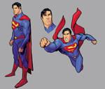 Brush-Superman-study-colors II