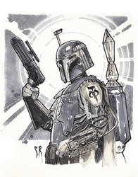 Boba-fett-Commission by StephaneRoux