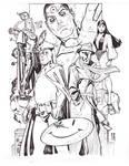 Watchmen Drink n( Draw Paris