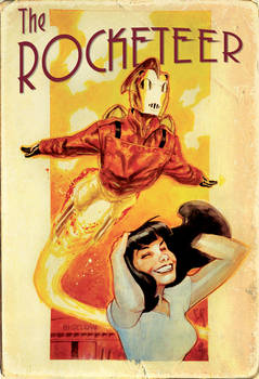 Tweaked Rocketeer Auction piece from Heroescon
