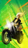 Black Canary rides!