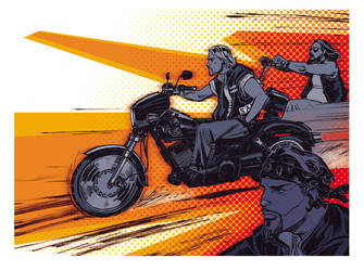 Sons of Anarchy by StephaneRoux
