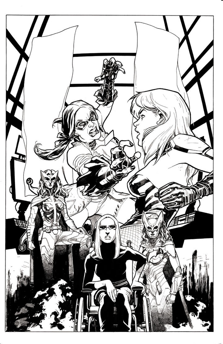 Injustice Cover # 7 by StephaneRoux