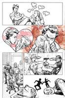 Harely Quinn Origin Story in Secret Origins #4 by StephaneRoux