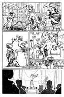 Harley Quinn Origin Story in Secret Origins #4 by StephaneRoux