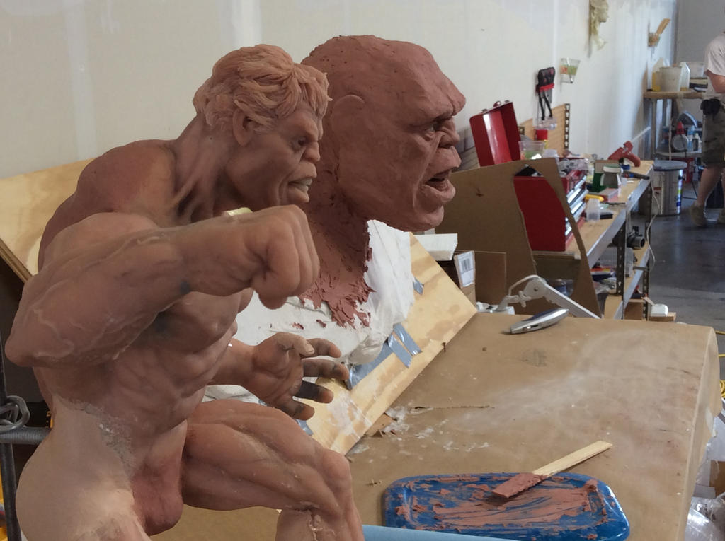 Maquette and Lifesize comparison by StephaneRoux