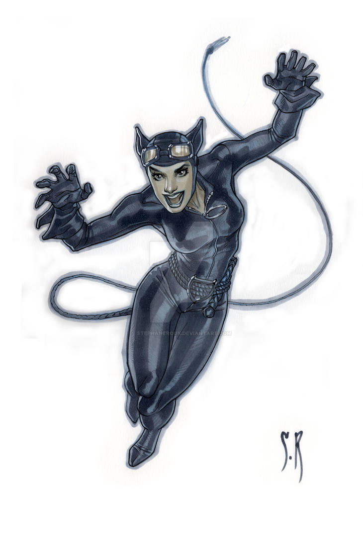 Catwoman by StephaneRoux