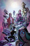 Avengers-Guardians of the Galaxy Team-up Cover
