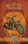 The Rocketeer Motorcycle Promo piece