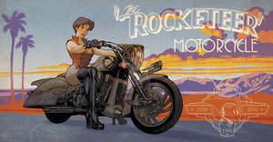 Rocketeer Bike and Pin Up colors