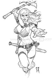 Red Sonja She-Devil with an axe