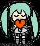 Miku Kawaii Coeur
