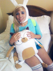 Fionna and Cake Preview by AdrienneOrpheus