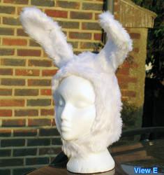 Fuzzy Bunny Hood by AdrienneOrpheus