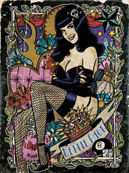 Bettie Page Tribute by Marie-oz